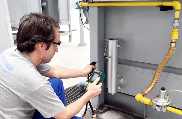 Regulagem de gases de combustão